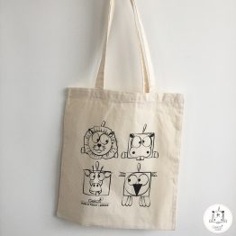 Tote bag à colorier