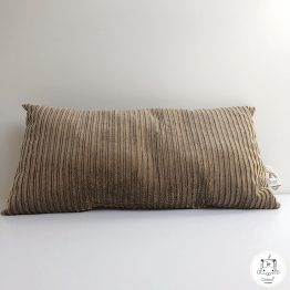 coussin rectangle camel