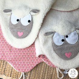 tapis plaid mouton rose gekati